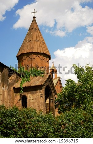 Armenian medieval church