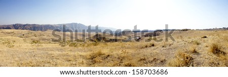 Armenian Panorama, Garni Road - stock photo