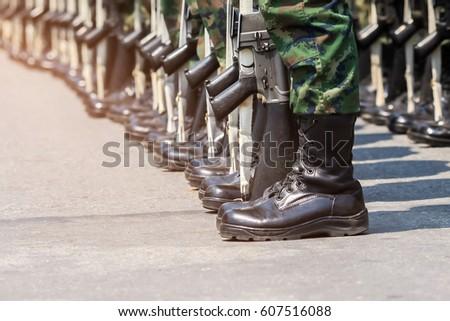 army parade boots closeup stock photo edit now 607516088