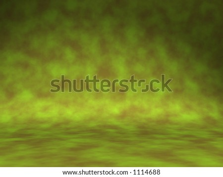 army style studio background - 3d render ready for you to add any model or objects - stock photo