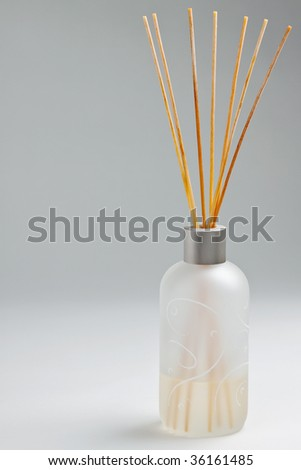 Aroma therapy scented oil - stock photo