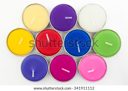 Aromatherapy Candle color full