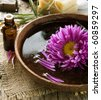 Aromatherapy.Essence oil.Spa treatment - stock photo
