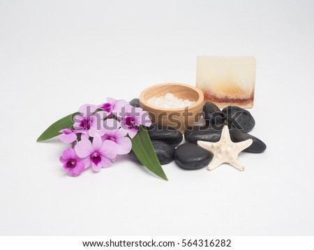 Asthma Inhalers Blossoming Tree Branches On Stock Photo