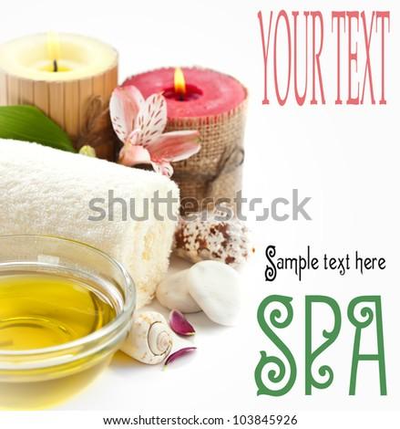 Aromatherapy.Spa - stock photo