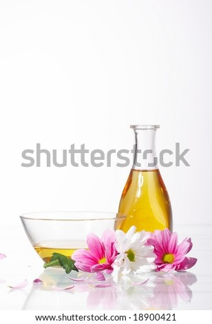 Aromatic oils - stock photo