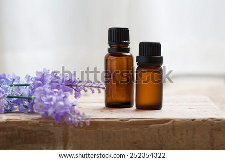 aromatic treatment - stock photo