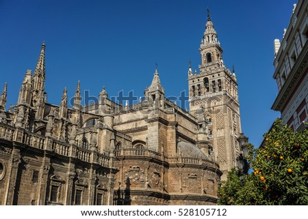 Around the city of Seville