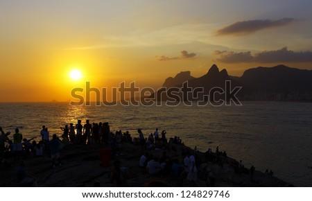 Arpoador, Rio de Janeiro - stock photo