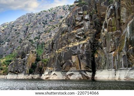 Arribes del Rio Duero, moles de granito - stock photo