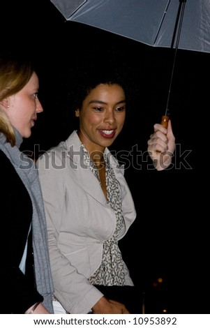 Arrivals at the British Independent Film Awards held at the Roundhouse, London, England. Sophie Okonedo