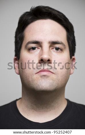 Arrogant man - stock photo
