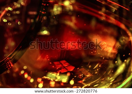 Art abstract glass background - stock photo