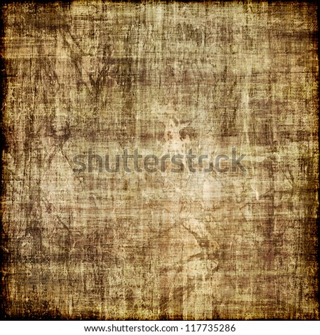 art abstract grunge brown textured background - stock photo