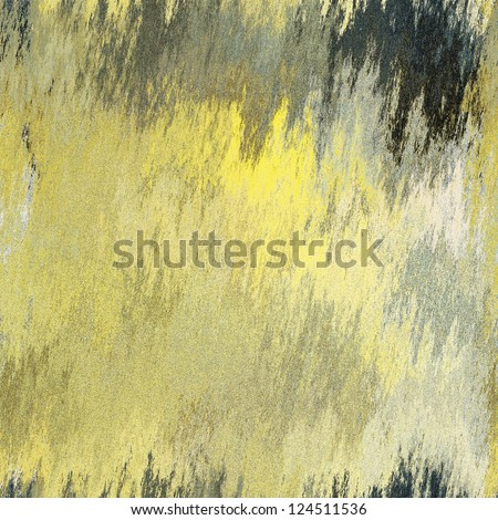 art abstract grunge dust textured background in light yellow with grey and black blots, seamless pattern