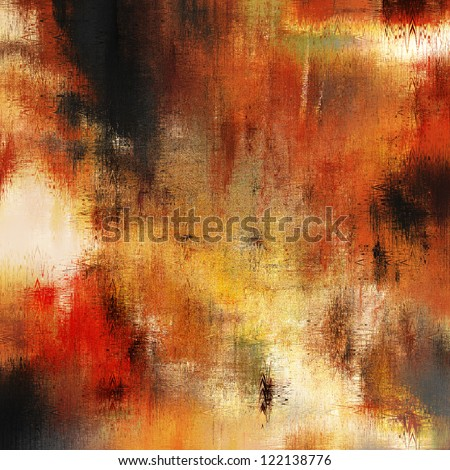 art abstract grunge sandy textured background in beige, gold yellow, orange, red ,brown and black colors - stock photo