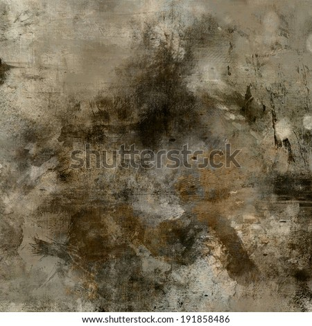 Art abstract monochrome acrylic background in beige black for Acrylic painting on black background