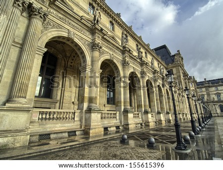 Art and Architecture in Paris - France - stock photo