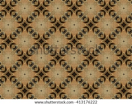 art brown seamless abstract pattern illustration background