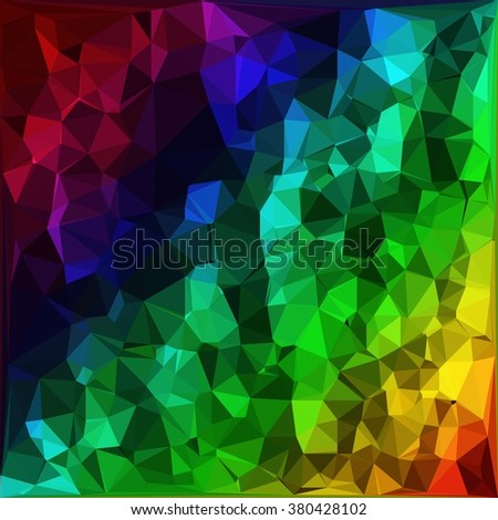 art color polygon abstract pattern background