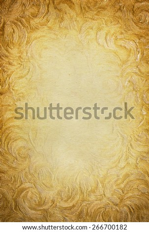 art Conceptual old paper background  - stock photo