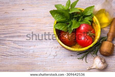 art food recipes - stock photo