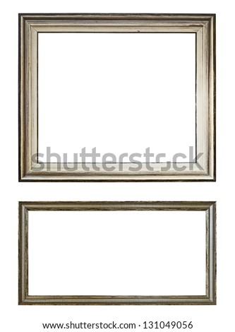 Art frames - stock photo