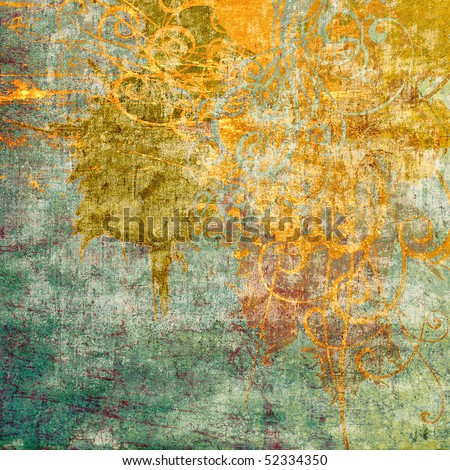 art grunge abstract background card
