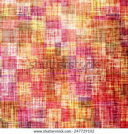Art grunge vintage textured background. With different color patterns: red (orange); yellow (beige); brown; purple (violet); pink - stock photo
