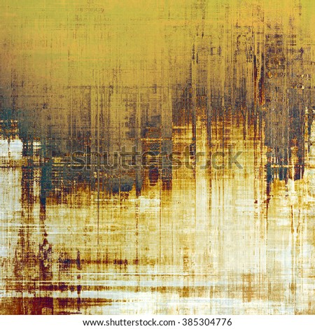 Art grunge vintage textured background. With different color patterns: yellow (beige); brown; blue; gray; white - stock photo