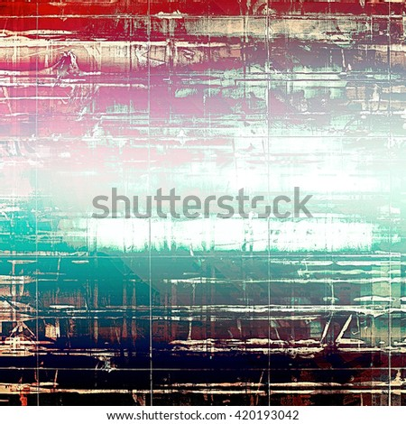 Art grungy texture, aged background with retro feeling. With different color patterns: red (orange); purple (violet); blue; black; pink; white - stock photo