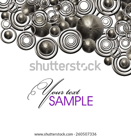 Art metal - stock photo