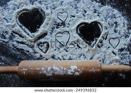 Art of love - stock photo