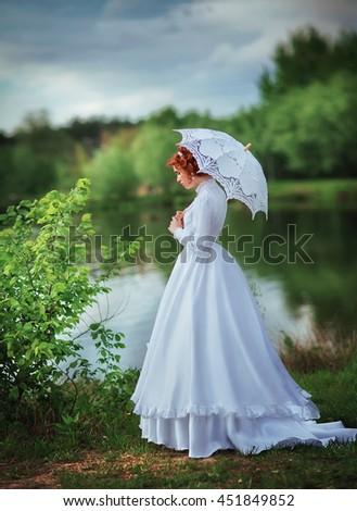 Art Work Fairy Tail Story Beautiful Woman Stock Photo (Royalty Free ...