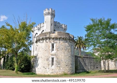 Arteaga castle - stock photo