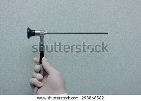 arthroscopy tools - stock photo