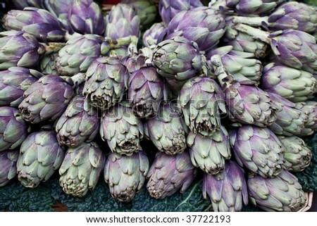 artichoke - stock photo