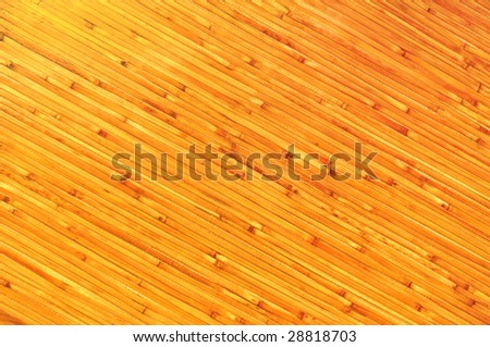 artificial bamboo board background - stock photo