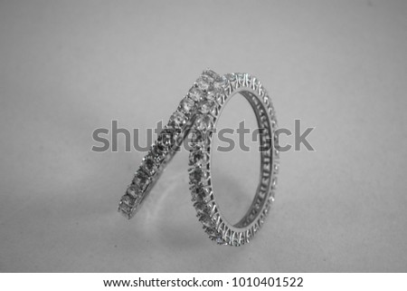 Artificial Diamond Stubbed Jewelry