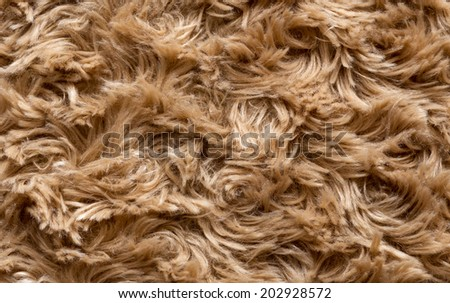 artificial fur texture for background - stock photo