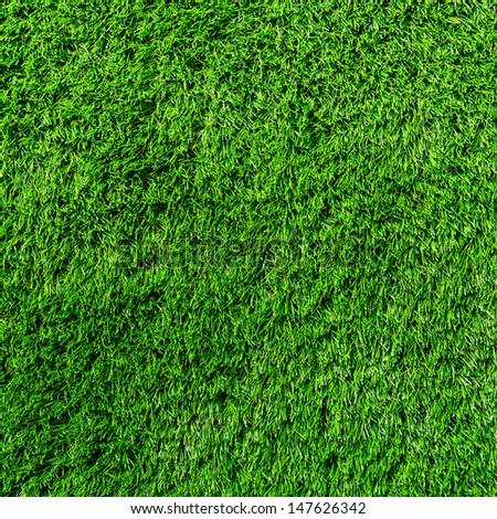 Artificial Grass Field - stock photo