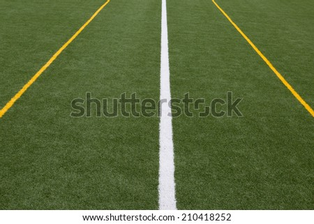 Artificial turf  - stock photo
