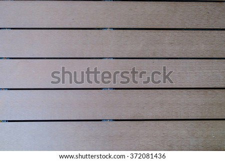 Artificial wood - stock photo