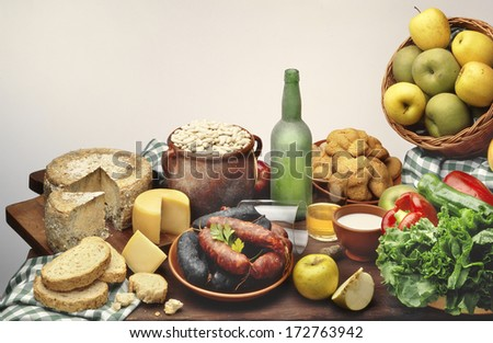 Asturias food stock images royalty free images for Asturias cuisine