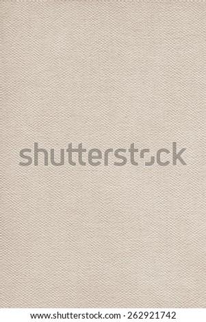 Artist Primed Linen Duck Canvas, coarse grain grunge texture. - stock photo