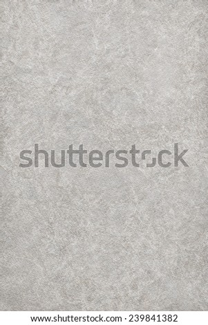 Artist Recycle Gray Watercolor Paper Coarse Mottled Grunge Texture - stock photo