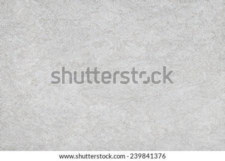 Artist Recycle Off White Watercolor Paper Coarse Mottled Grunge Texture - stock photo