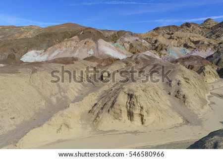 Artist's Palette, Death Valley National Park, California, United States