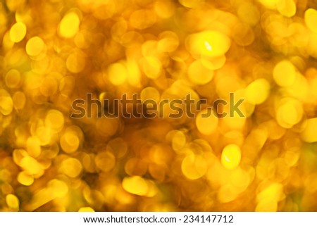 artistic background golden bokeh