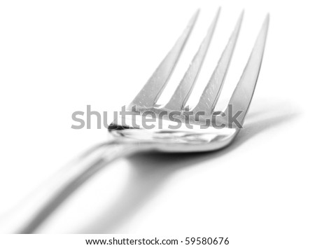 Artistic cutlery - stock photo